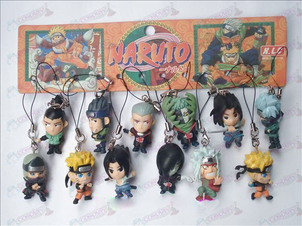 12 Naruto Boneca de Corda Machine (12 / set)