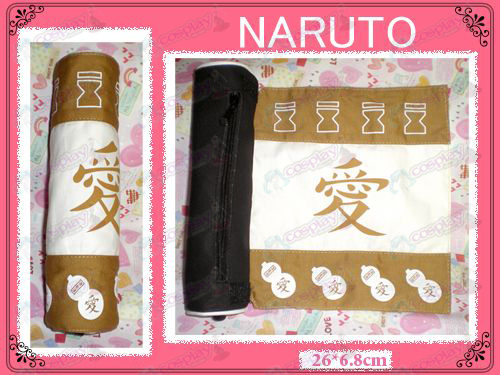 Naruto Gaara Pen Scroll (marrom)