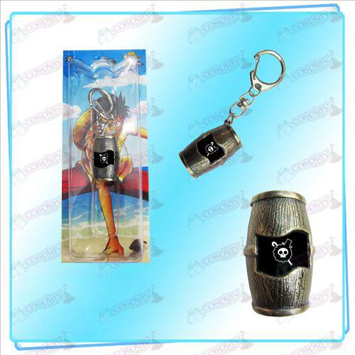 Luffy piratas barris Keychain (Brooke)