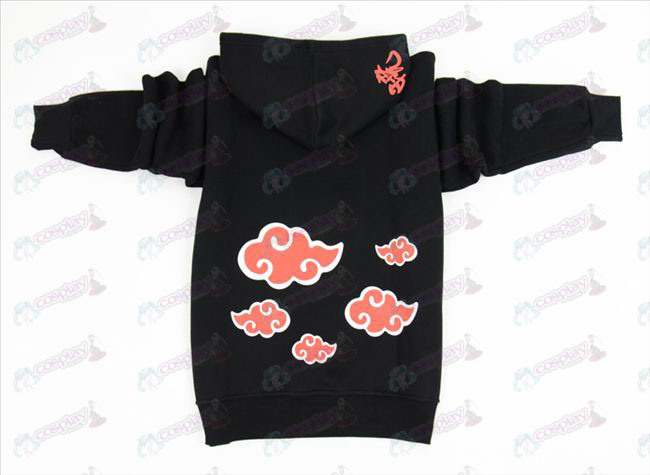 Naruto Red Cloud grosso suéter (M / XL)