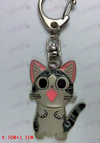 Cat Privada doce Keychain