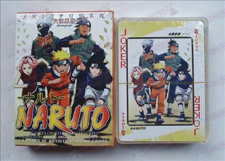 Hardcover edition of Poker (Naruto)