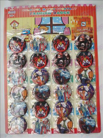 Naruto broche (24 / placa)