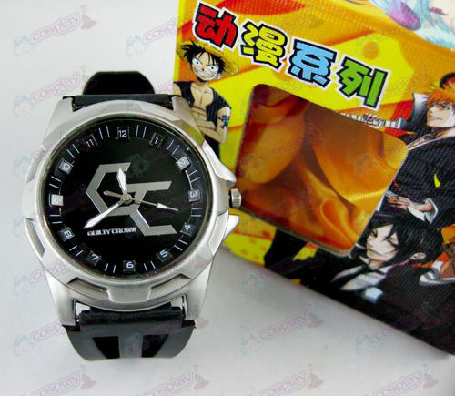 Guilty Crown Acessórios Scale Watch - Preto