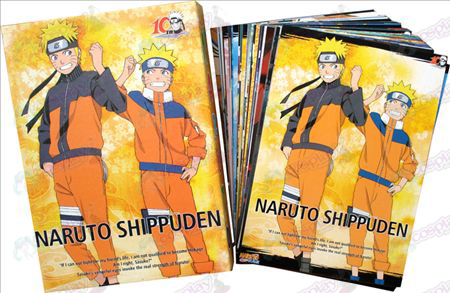 Naruto Postais + Card 6