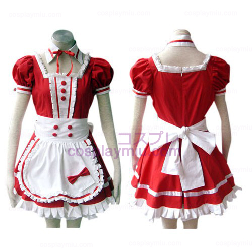 Red Gothic Lolita Cosplay