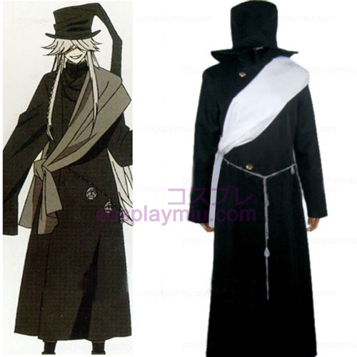 Black Butler Undertaker Cosplay Halloween