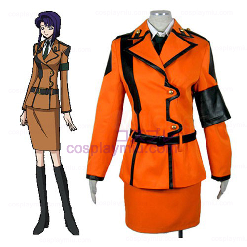 Code Geass Cecile traje uniforme Croomy Cosplay