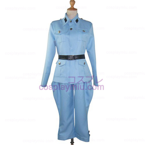 Axis Powers Light Blue Cosplay Halloween