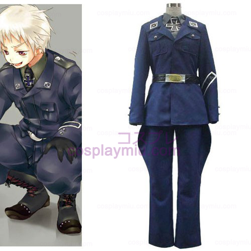 Axis Powers Prússia Gilbert Cosplay Beilschmidt