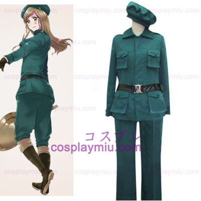 Hetalia Axis Powers Hungria Cosplay Halloween