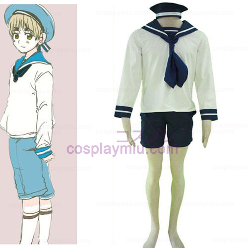 Hetalia Axis Powers N. Itália Sailor Cosplay Suit
