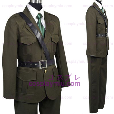 Hetalia Axis Powers Reino Unido Cosplay Halloween