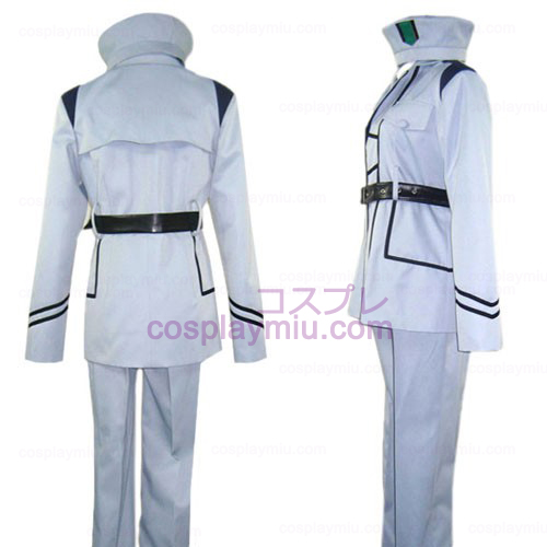 Hetalia Axis Powers Prata Cosplay Uniforme