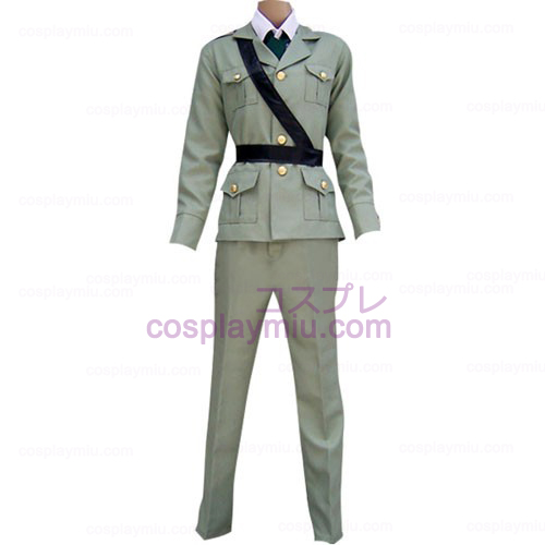Hetalia: Axis Powers Cinza Cosplay Inglaterra