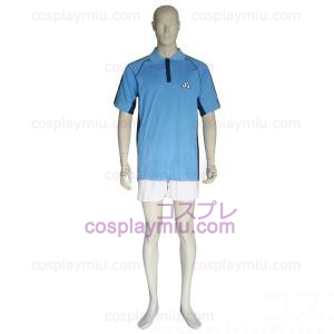 The Prince of Tennis Jyousei Shounan Luz Azul e Branco Cosplay