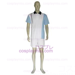 The Prince of Tennis Hyotei Gakuen Luz Azul e Branco Cosplay