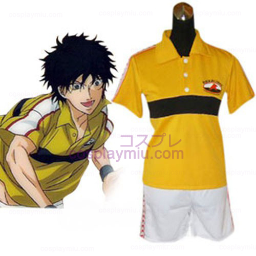 Prince of Tennis Rikkai Cosplay Uniforme de Verão Juniorl