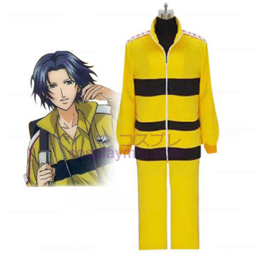 Prince of Tennis Cosplay Uniforme Rikkai Amarelo