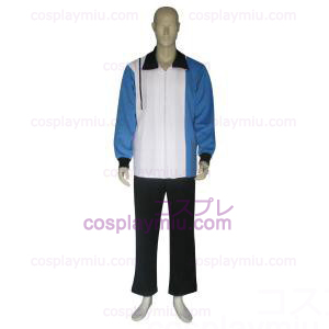 The Prince of Tennis Hyotei Gakuen Azul Escuro Branco e Preto Cosplay