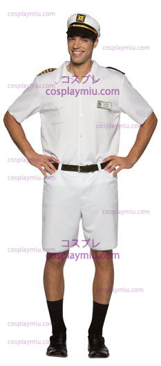 Love Boat Captain Costume Adult Stubing