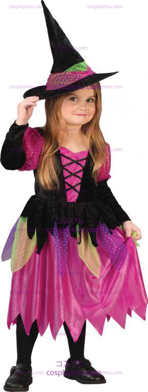 Arco-íris Toddler Costume Witch