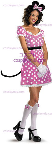 Minnie Mouse Sassy rosa 12-14