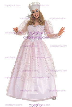 Wizard Of Oz traje adulto Glinda Boa Bruxa