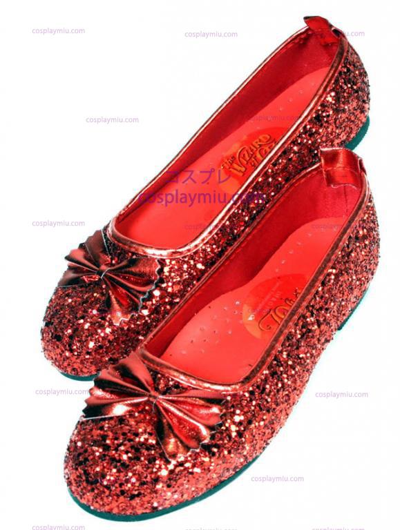 df57e98dd Mágico de Oz tamanho infantil sapatos de Dorothy Mágico de Oz ...