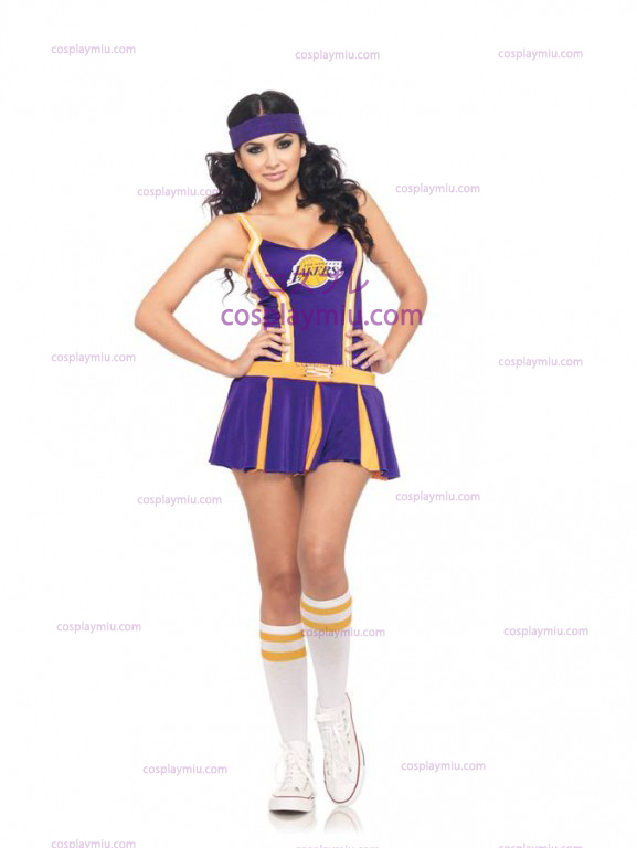 Lakers Fantasias Adulto Cheerleader