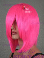 "15 ""peruca de Cosplay Hot Pink Hetero"
