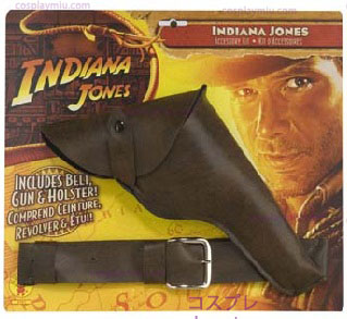 Indiana Jones Gun Com Holster
