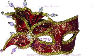 Venetian Mask Red Stick