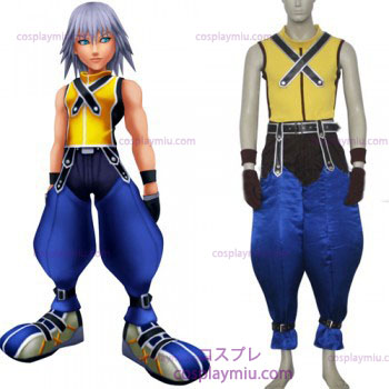 Kingdom Hearts traje 1 Homens de Riku Cosplay