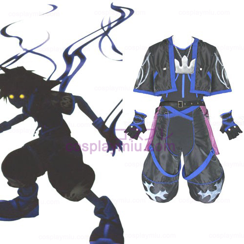 Kingdom Hearts 2 Anti Sora Cosplay Homens