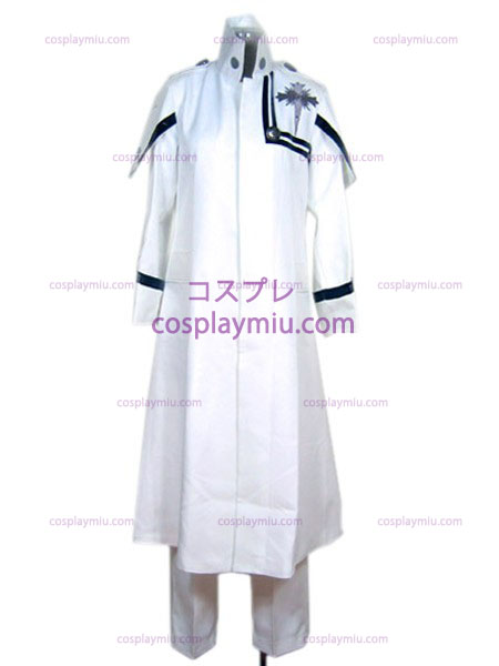 D.Gray-man Komui traje cosplay Lee