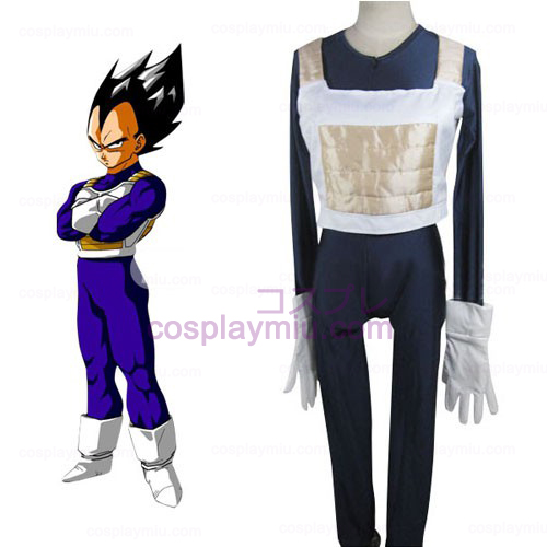 Dragon Ball Batalha Vegeta Cosplay Vestido