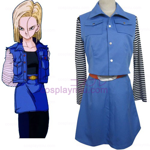 Dragon Ball Android 18 Cosplay