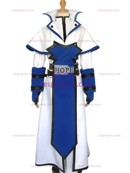 Guilty Gear Kai traje cosplay Kiske