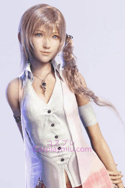Final Fantasy XIII Serah Cosplay Peruca